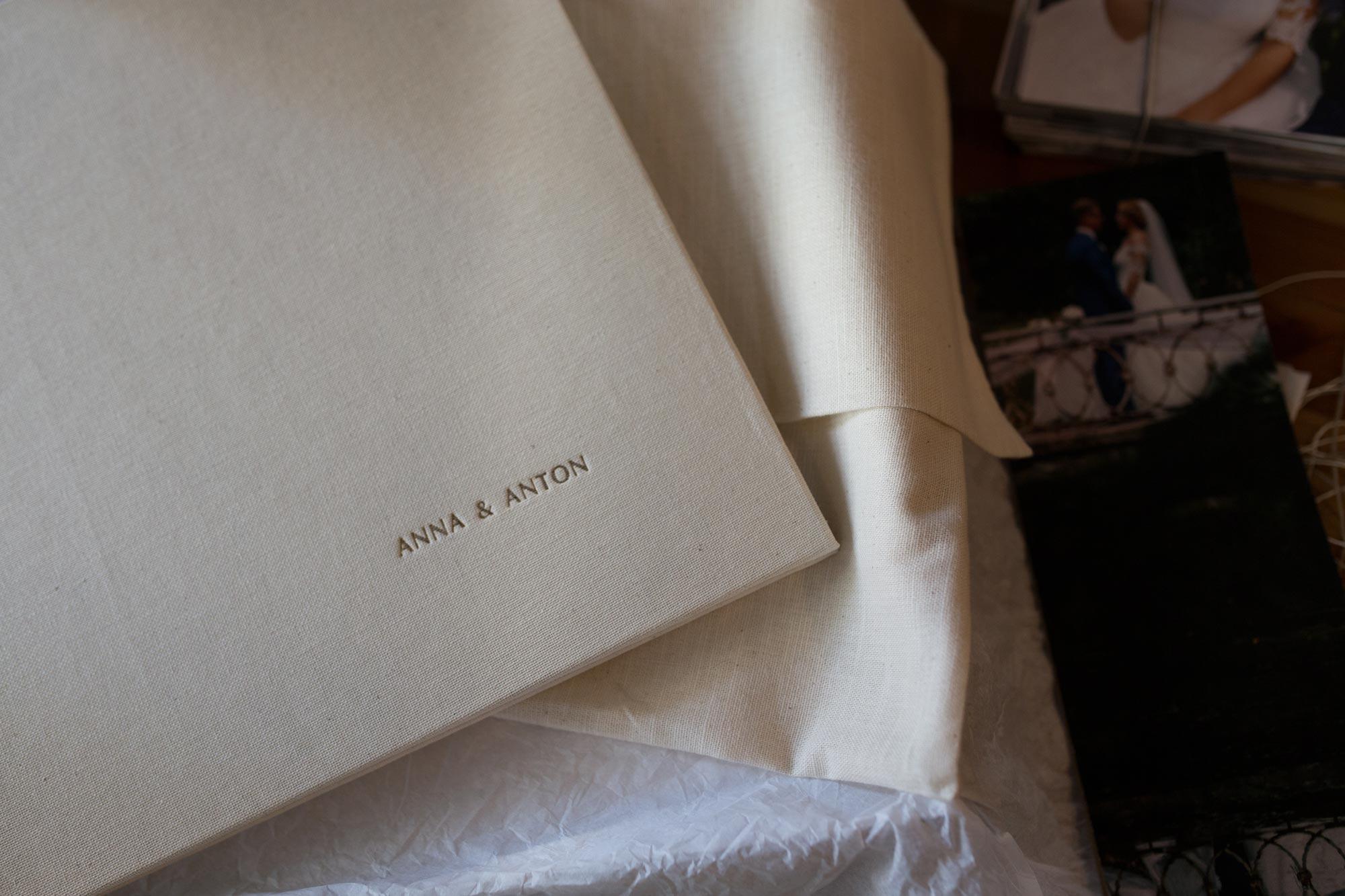It's My Album - names print on album cover example